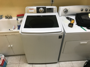 Samsung Top Load Washer Leaking On Floor